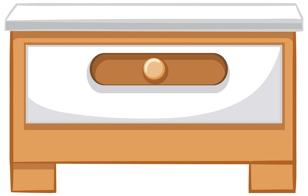 Een ladekast voor interieurontwerp
