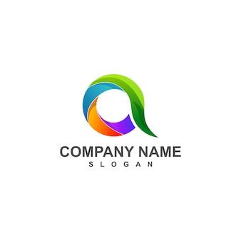 Een logo kleur