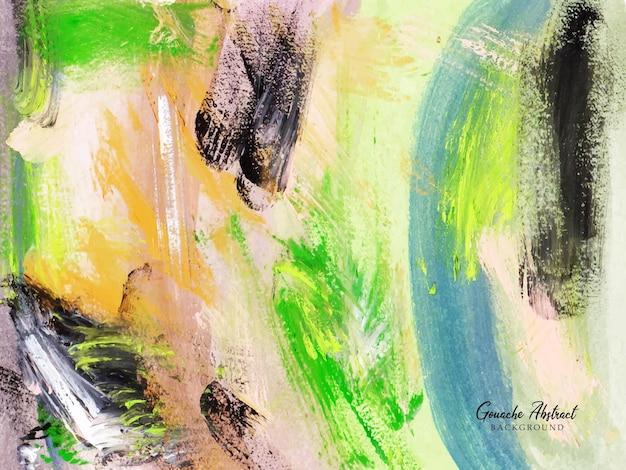 Een mooie penseelstreek abstracte schilderachtergrond
