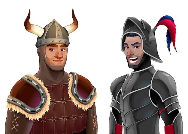 Een paar ridders.
