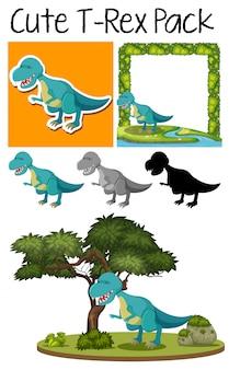 Een pakje tyrannosaurus
