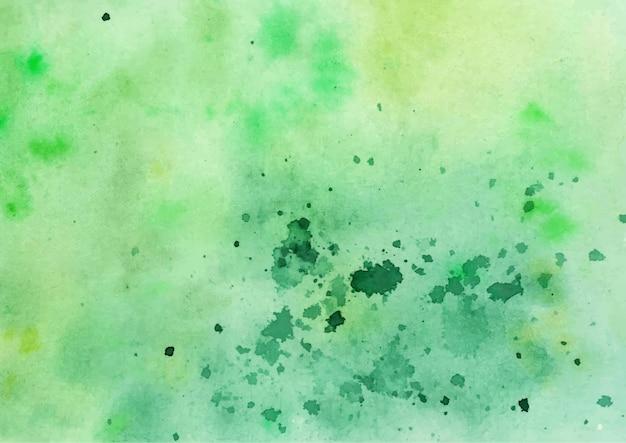 Een prachtige groene abstracte aquarel achtergrond