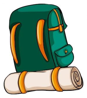 Een reizende tas