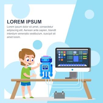 Een robotmodel maken