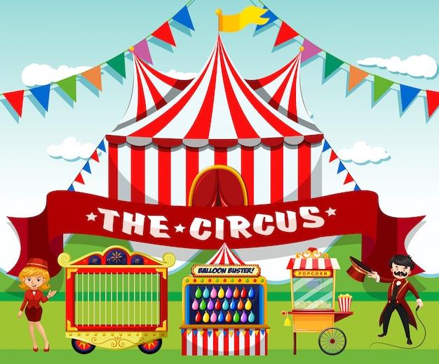 Een schattig circus