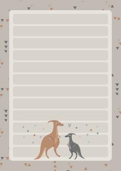 Een sjabloon voor eenvoudige planners en takenlijsten voor kinderen met schattige illustraties in pastelkleuren. planners voor kinderen, schema's, checklists.