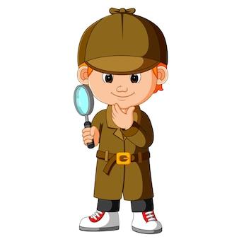Een slimme jonge detective