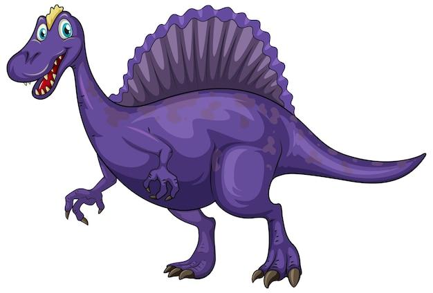 Een spinosaurus dinosaurus stripfiguur