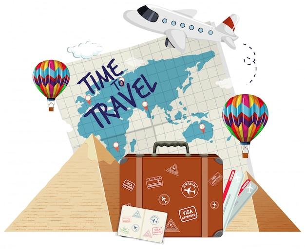Een tijd om te reizen pictogram