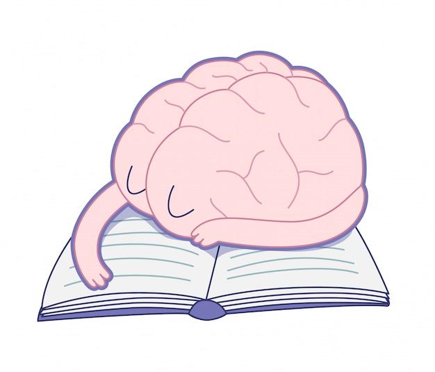 Een vermoeide hersenen