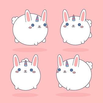 Eenhoorn konijn