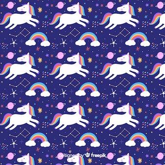 Eenhoorn patroon