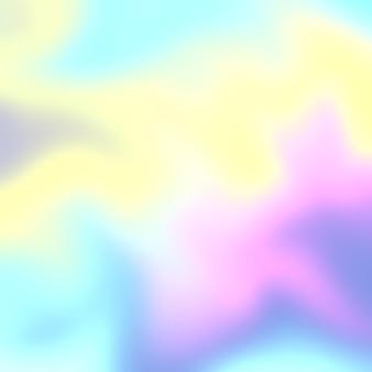 Eenhoorn thema holografische stijl pastel achtergrond