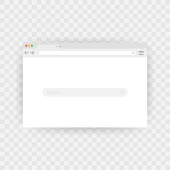 Eenvoudig browservenster