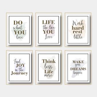 Eenvoudig citaat in frame plaatsen