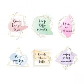 Eenvoudig citatenontwerp