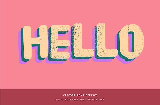 Eenvoudig gelaagd teksteffect