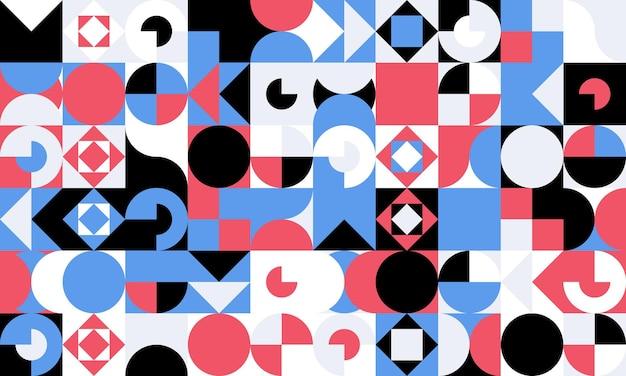 Eenvoudig geometrisch naadloos patroon