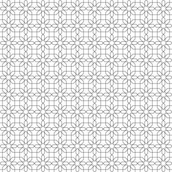 Eenvoudig geometrisch naadloos patroonbehang als achtergrond