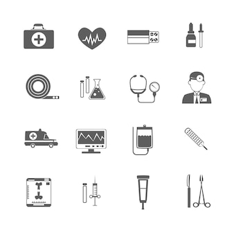 Eenvoudig medisch pictogram