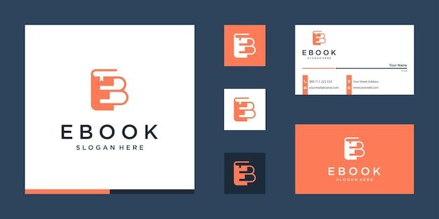 Eenvoudig ontwerpsjabloon voor elektronisch boek