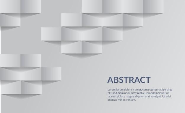 Eenvoudig schoon wit elegant bedrijfsmalplaatje als achtergrond geschikt voor presentatiedocument textuur