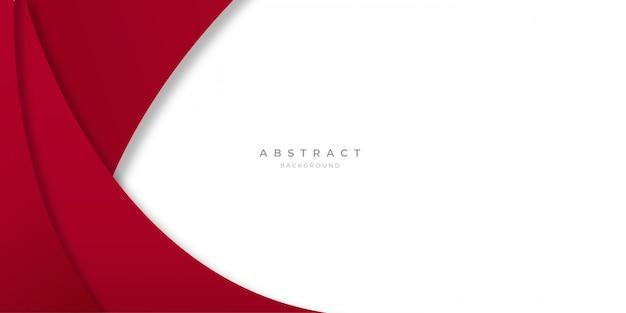 Eenvoudige abstracte golf achtergrond