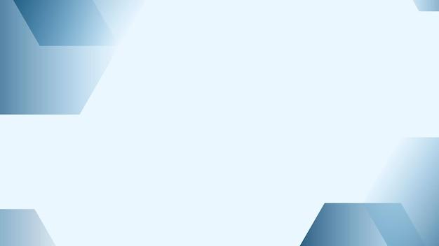 Eenvoudige blauwe achtergrond met kleurovergang vector voor zaken
