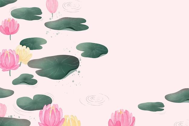 Eenvoudige bloemenachtergrond