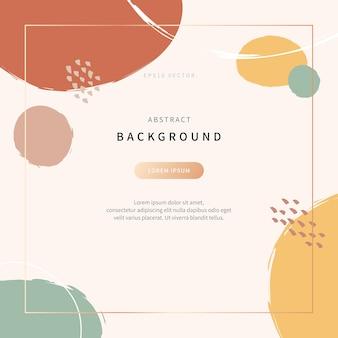 Eenvoudige en eigentijdse achtergrond