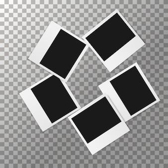 Eenvoudige fotolijsten vector