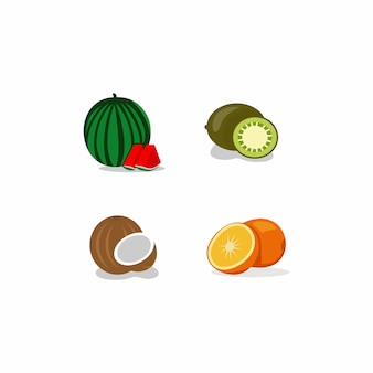 Eenvoudige fruitset