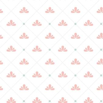 Eenvoudige geometrische vector naadloze textuur