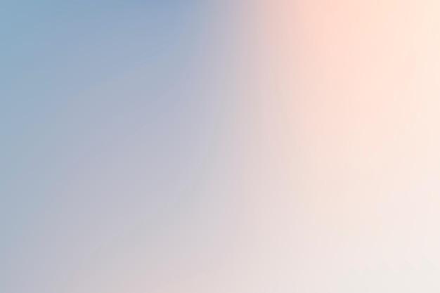 Eenvoudige gradiëntachtergrondvector in de winterblauw en roze