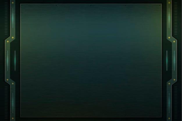 Eenvoudige groene technologie achtergrondsjabloon