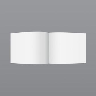 Eenvoudige kleine tijdschrift, mockup