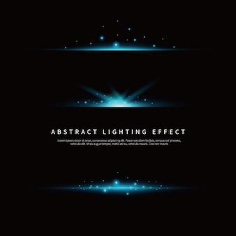 Eenvoudige lichteffect achtergrond