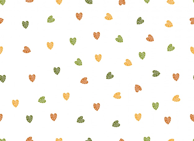 Eenvoudige liefde hart naadloze patroon