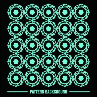 Eenvoudige lijn geometrische patronen