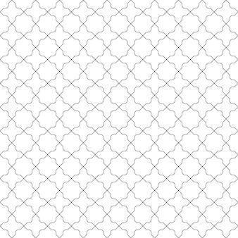 Eenvoudige naadloze vintage patroonachtergrond