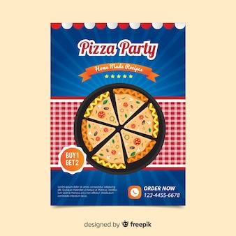 Eenvoudige pizzavlieger
