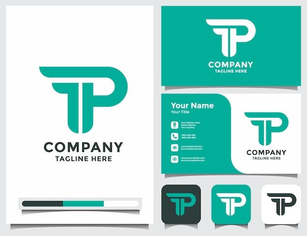 Eerste fp pf-logo met visitekaartje