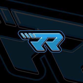 Eerste rr-logo-ontwerp