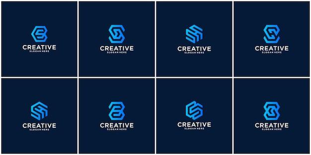 Eerste set s-logo-inspiratie