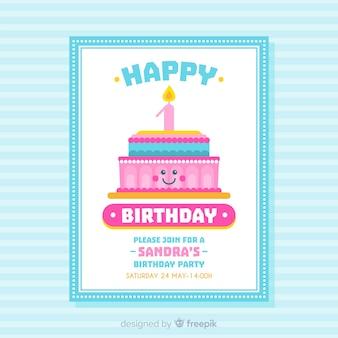 Eerste verjaardagskaart