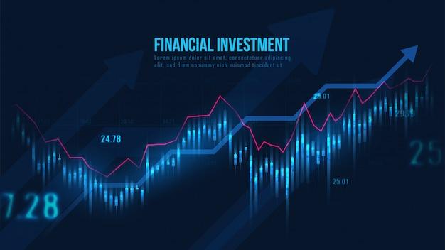 Effectenbeurs of forex trading grafiek
