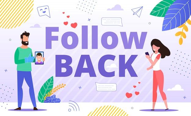 Effectieve tool voor follow back en cross-promotie