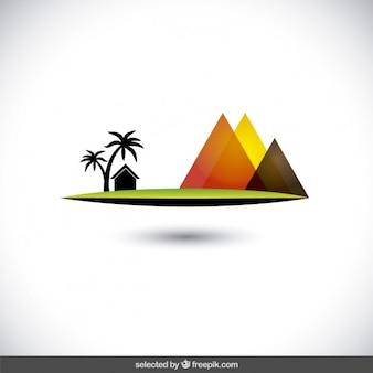 Egypte landschap