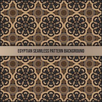 Egyptische naadloze patroon achtergrond