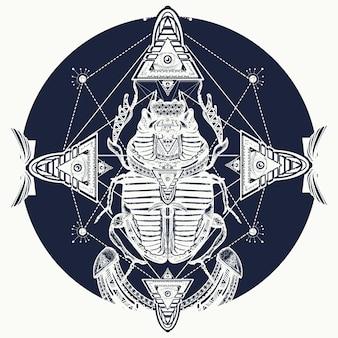 Egyptische scarabee